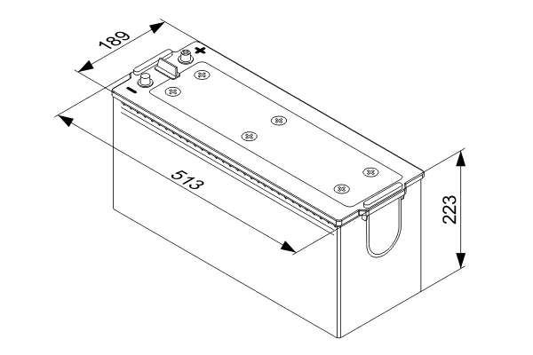 Akumulátor 140 Ah (12V 140Ah / 800 A   HD) www.tirshop.sk BOSCH