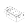 Akumulátor 225 Ah (12V 225Ah / 1150 A   HDE) www.tirshop.sk BOSCH