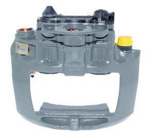 Brzdový strmeň ľavý predný M2000 (KNORR SN6) www.tirshop.sk Repasovaný diel