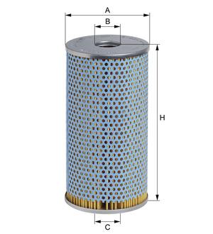 Olejový filter E195H (vložka) (MAN/KAROSA) www.tirshop.sk HENGST