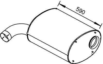 Tlmič výfuku IVECO STRALIS (STRALIS 190S440,190S43,260S40,260S43,440S40,440S43) www.tirshop.sk ATEX