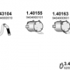 Tlmič výfuku MB ATEGO 140155 (1823/1828/2628/2523/2528) www.tirshop.sk ATEX