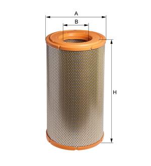 Vzduchový filter E313L (DAF/95XF 380/430/480) www.tirshop.sk HENGST