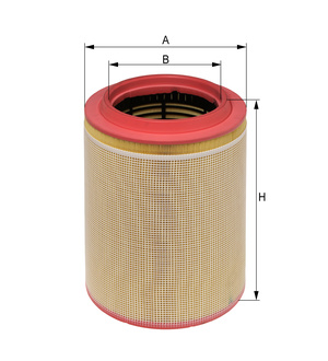 Vzduchový filter E681L (IVECO/STRALIS/AD/AS/TRAKKER/AD) www.tirshop.sk HENGST